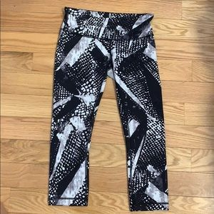Lululemon Printed Leggings Size 6